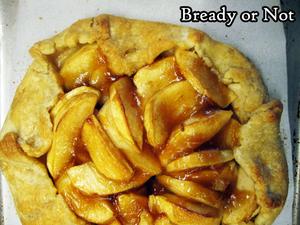 Bready or Not Original: Apple Calvados Galette