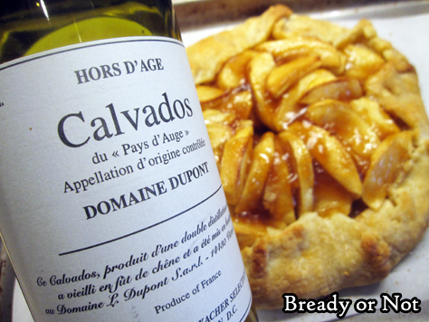 Bready or Not Original: Apple Calvados Galette
