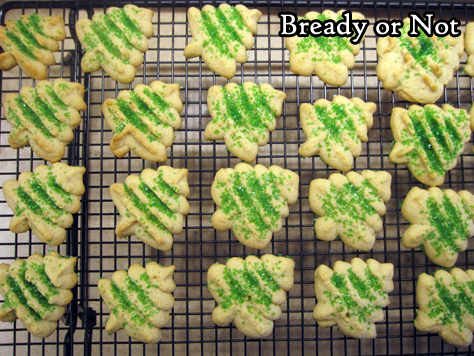 Bready or Not Original: Honey Spritz Cookies