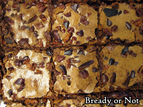 Bready or Not Original: Cocoa Nib Brownies