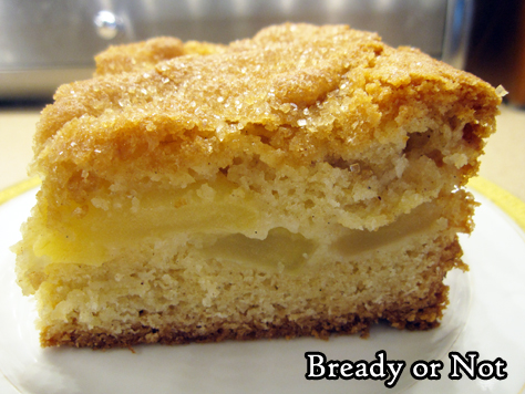 Bready or Not: Apple Slice Tray Bake