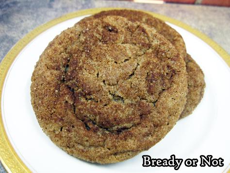 Bready or Not Original: Cinnamon-Coffee Cookies