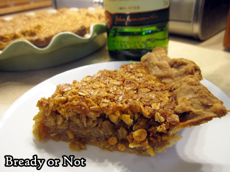 Bready or Not: Honey Oat Pie with a Cinnamon Pie Crust
