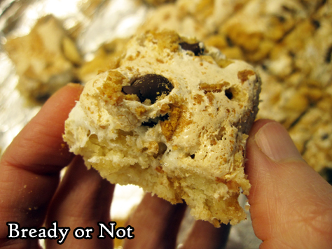 Bready or Not Original: S'mores Cake Mix Bars