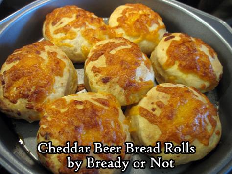 Bready or Not: Cheddar Beer Bread Rolls