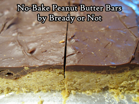 Bready or Not Original: No-Bake Peanut Butter Bars