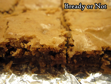 Bready or Not Original: Small Batch Cakey Brownies