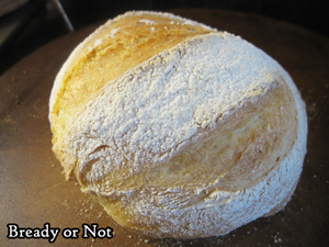 Bready or Not: No-Knead French Boule (French Bread Round)