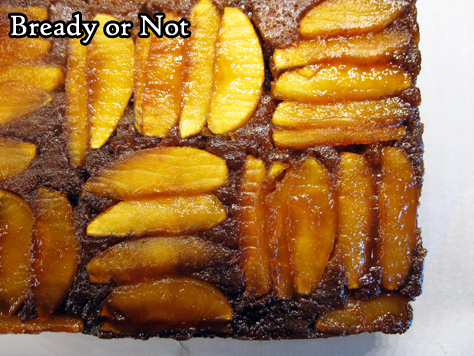 Bready or Not: Molasses Toffee Apple Upside-Down Cake