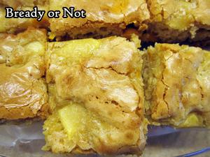 Bready or Not Original: Apple Caramel Chip Blondies