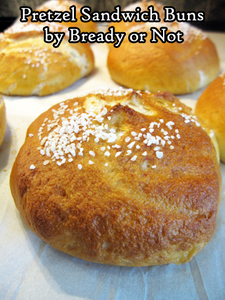 Bready or Not: Pretzel Sandwich Buns