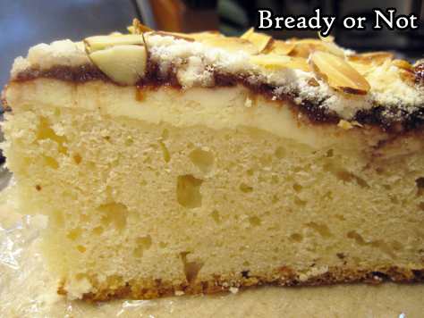 Bready or Not: Cherry-Almond Coffee Cake