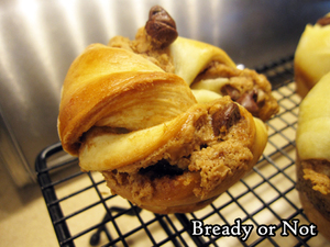 Bready or Not Original: Mini Cookie Butter-Chocolate Babkas