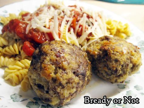 Bready or Not Original: Easy Italian Meatballs