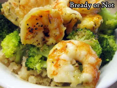 Bready or Not Original: Roasted Lemon Garlic Shrimp