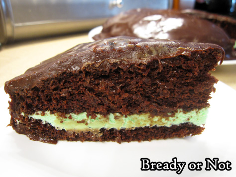 Bready or Not Original: Thin Mint Cake