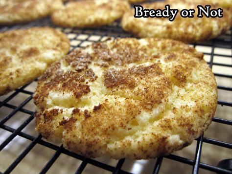Bready or Not Original: Pumpkin Spice Snickerdoodles